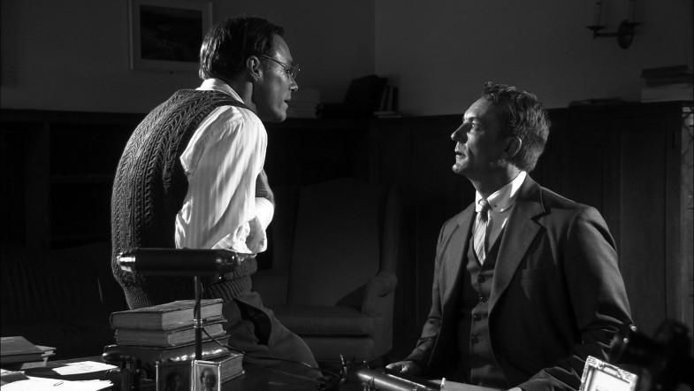 Professor Ward argues with Wilmarth