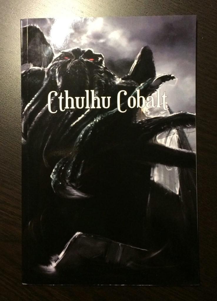 Couverture de Cthulhu Cobalt